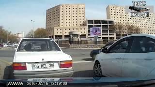 Türkiyeden Trafik Kazaları #8 Araç Ön Kamera Kazaları