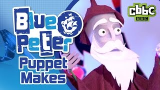 How to make a puppet on CBBC Blue Peter!