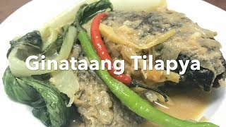 Ginataang Tilapia (Fried Tilapia Cooked in Coconut Milk) #22