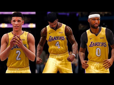 NBA LIVE 18 THE ONE CAREER - TRADE ACCEPTED!! A NEW BIG THREE IN LOS ANGELES!