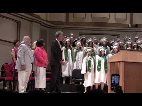 Nerinx Hall High School Graduation 2019 Powell Hall singing