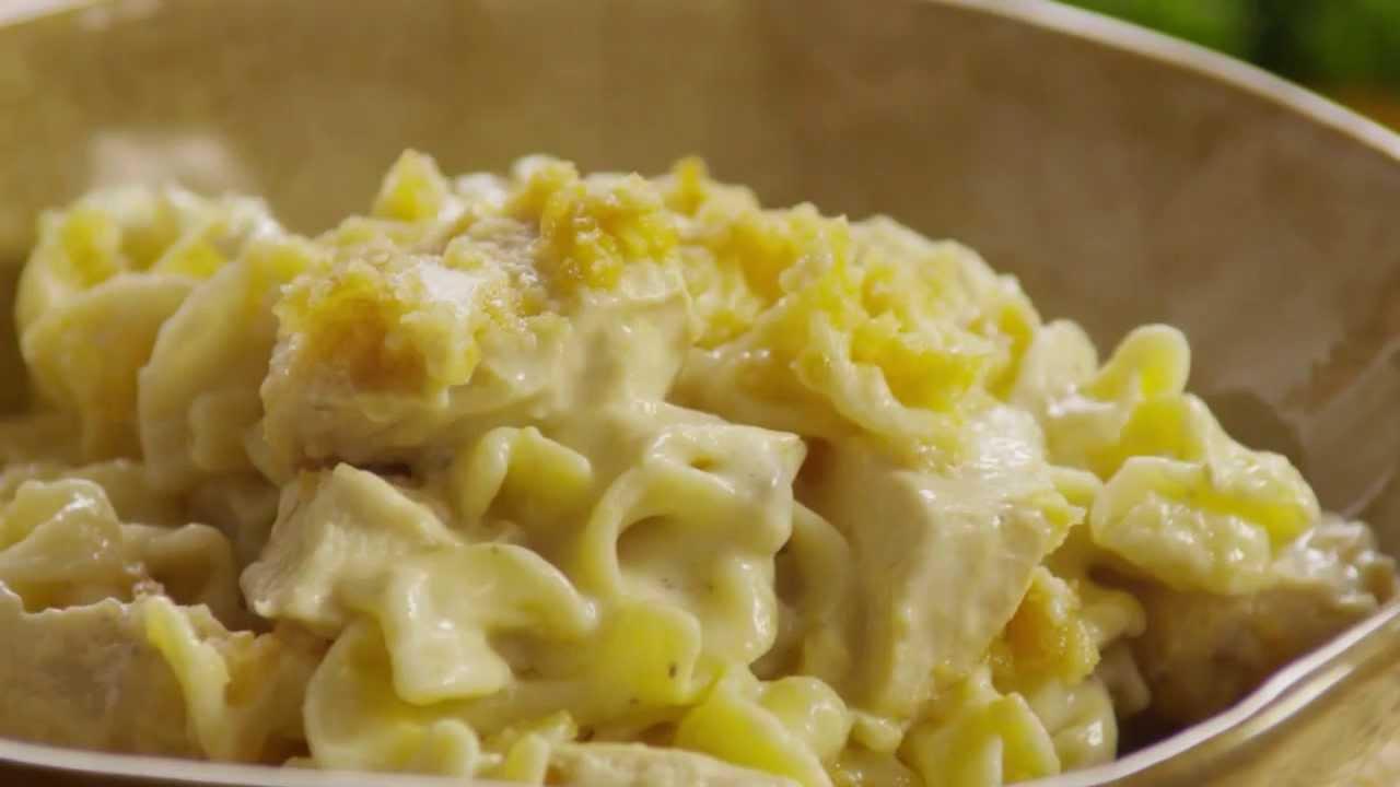 How to Make Chicken Noodle Casserole | Chicken Recipes | Allrecipes.com - YouTube