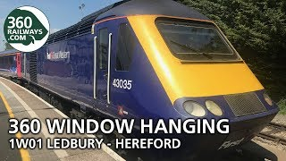 1W01 Ledbury to Hereford in 360º (View in 4K)