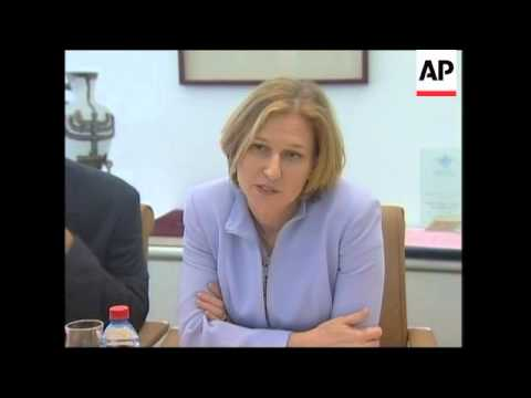South Korean trade minister meets Tzipi Livni, Livni comments on hostages in Afghanistan