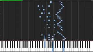 Flight of the Bumblebee - Nikolai Rimski-Korsakow [Piano Tutorial] (Synthesia)