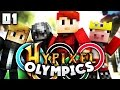 The Hypixel Olympics w/ Technoblade, Zyper, & iBeaturscore (Part 1/3)