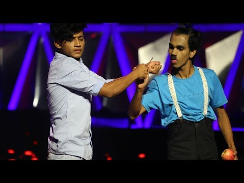 D4 Junior Vs Senior l Vyshak & Jishnu - A Charli Chaplin performance I Mazhavil Manorama
