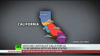 Could California split into six new states?