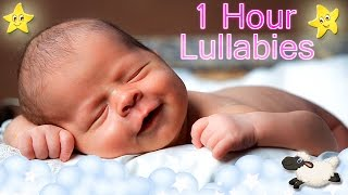 1 Hour Soothing Baby Music ♥♥♥ Relaxing Bedtime Lullaby ♫♫♫ Calming Nursery Rhyme