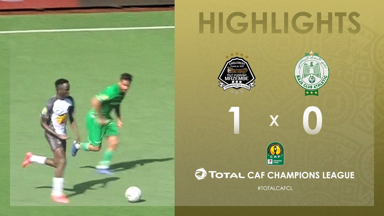 TP Mazembe 1-0 Raja Club Athletic | HIGHLIGHTS | Quarter-Final Second Leg | TotalCAFCL