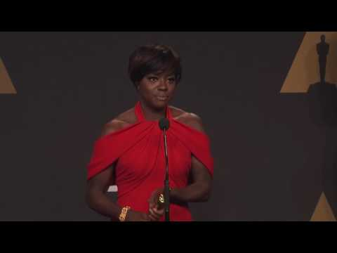 "Viola Davis ""Fences , Best Supporting Actress   Oscars 2017   Full Backstage Interview"