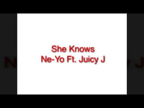 Ne-Yo  She Knows (Audio)