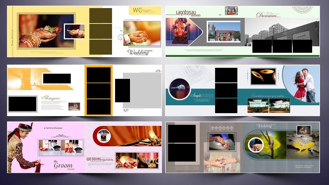 Indian Karizma Album Design 12x36 Psd Templates Free Download Srinu Photo Editing