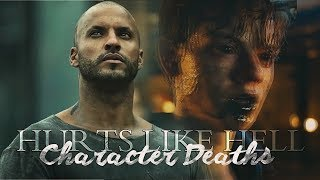Character Deaths | Hurts Like Hell