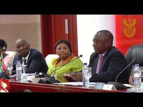 President Cyril Ramaphosa undertakes Working Visit to the Republic of Mozambique