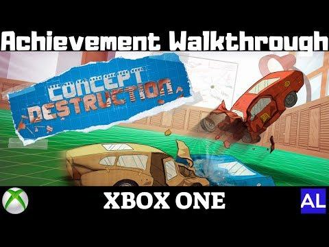 Concept Destruction (Xbox One) Achievement Walkthrough