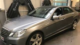 Mercedes Benz Auch   Remplacement radiateur huile moteur OM 642