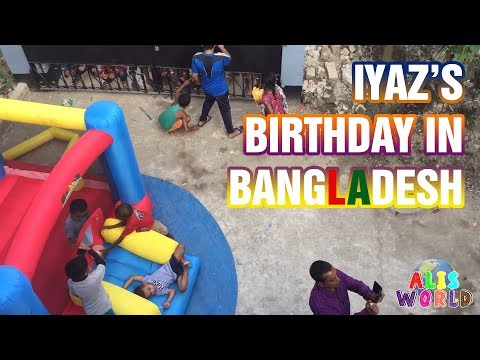 VLOG Celebrating Iyaz's Birthday in Bangladesh NOV 2017