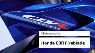 Mise en main de la nouvelle Honda CBR1000RR-R SP Fireblade 2020 par envie2rouler