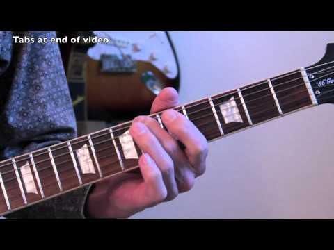 UFO - Rock Bottom - Guitar Lesson