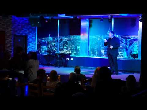 "Martin Gregory-Lambert.  singing ""Nella Fantasia"" @ Oscars Bar. Bolton"