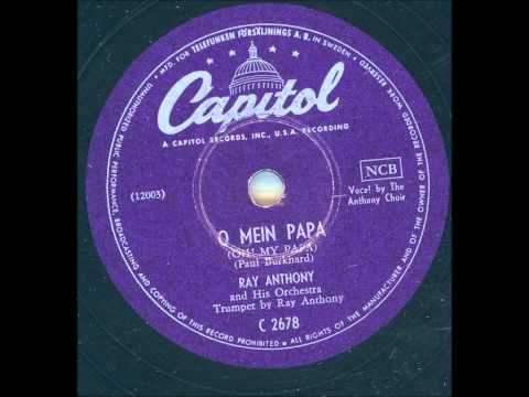Ray Anthony and his Orchestra - O mein Papa