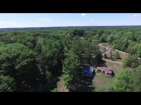 DJI Phantom 3 Advanced flyover Lake Cardinal
