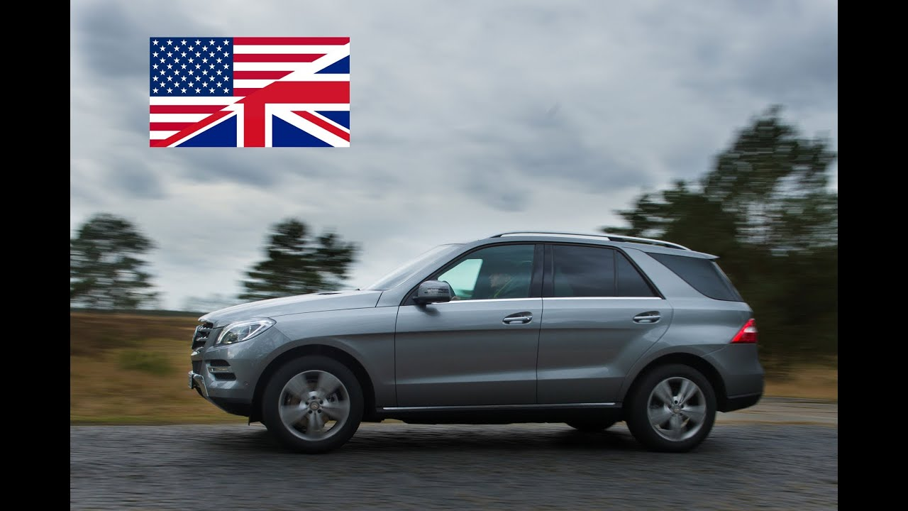 2013 Mercedes Benz ML 350 BlueTEC 4MATIC Exhaust Test Drive and