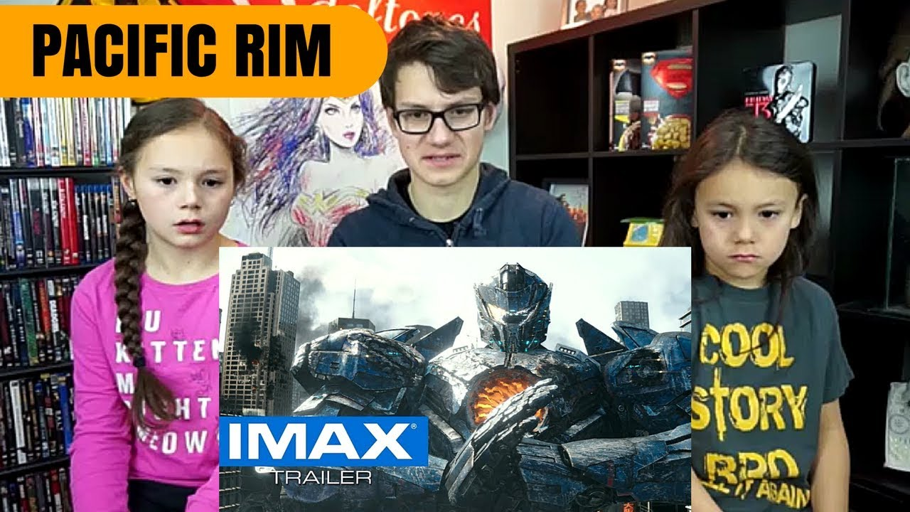 Pacific Rim: Uprising IMAX Trailer Reaction!!!