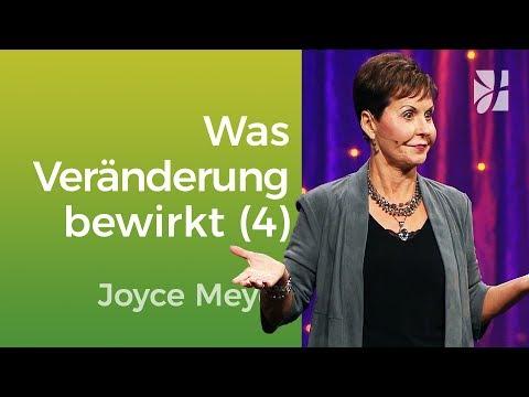 Kleine Veränderungen – große Wirkung (4) – Joyce Meyer – Mit Jesus den Alltag meistern