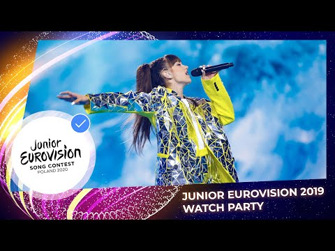 #JESCWatchParty - Junior Eurovision 2019 (with Comments From The 2020 Stars)