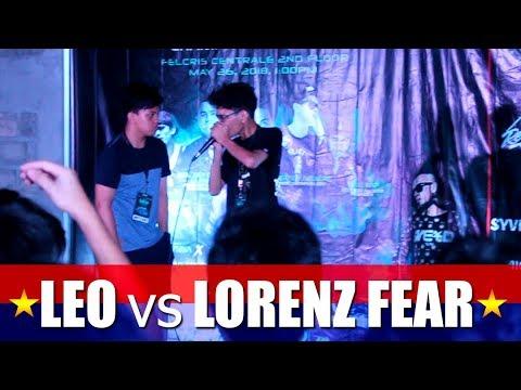 Philippine Beatbox Battle   LEO vs LORENZ FEAR   Top 16