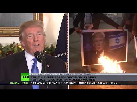 Days of rage: Trump's Jerusalem decision sparks furious reaction in Muslim world