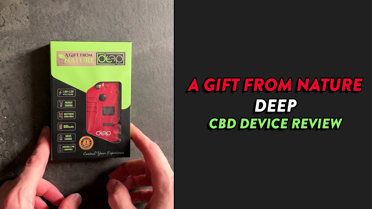 The Swiss Army Knife of CBD Devices - DEEP