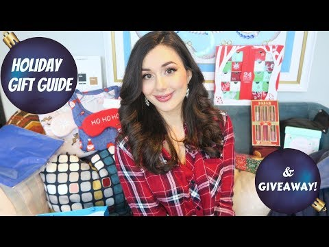 2017 HOLIDAY GIFT GUIDE & GIVEAWAY!