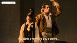 Luca Pisaroni sings Figaro's aria