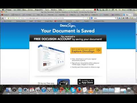 Using Hellofax and Docusign to Sign Contracts From Anywhere in Minutes - YouTube