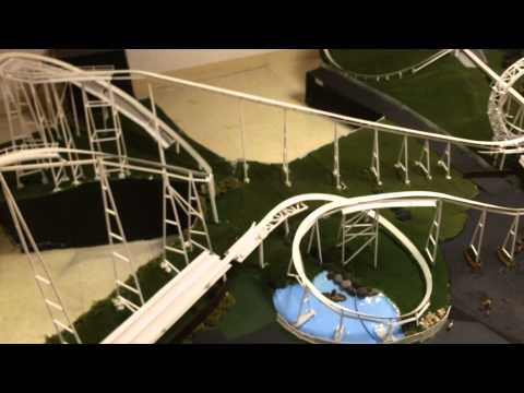 Great American Revolution Model Roller Coaster