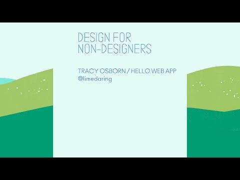 Design for Non-Designers - CodeConf 2016