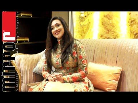 Rituparna Sengupta Interview at Prem's Collections, Dhaka