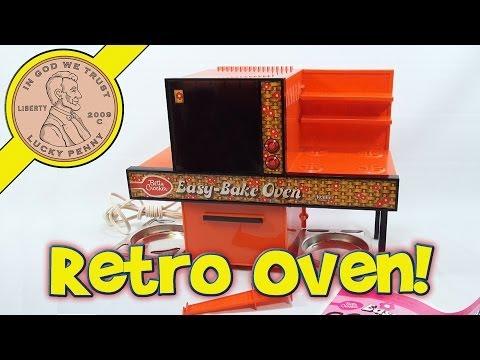 1976 Betty Crocker Easy Bake Oven, Kenner Toys - Jam Dandies & Peanut Butter Fudge!