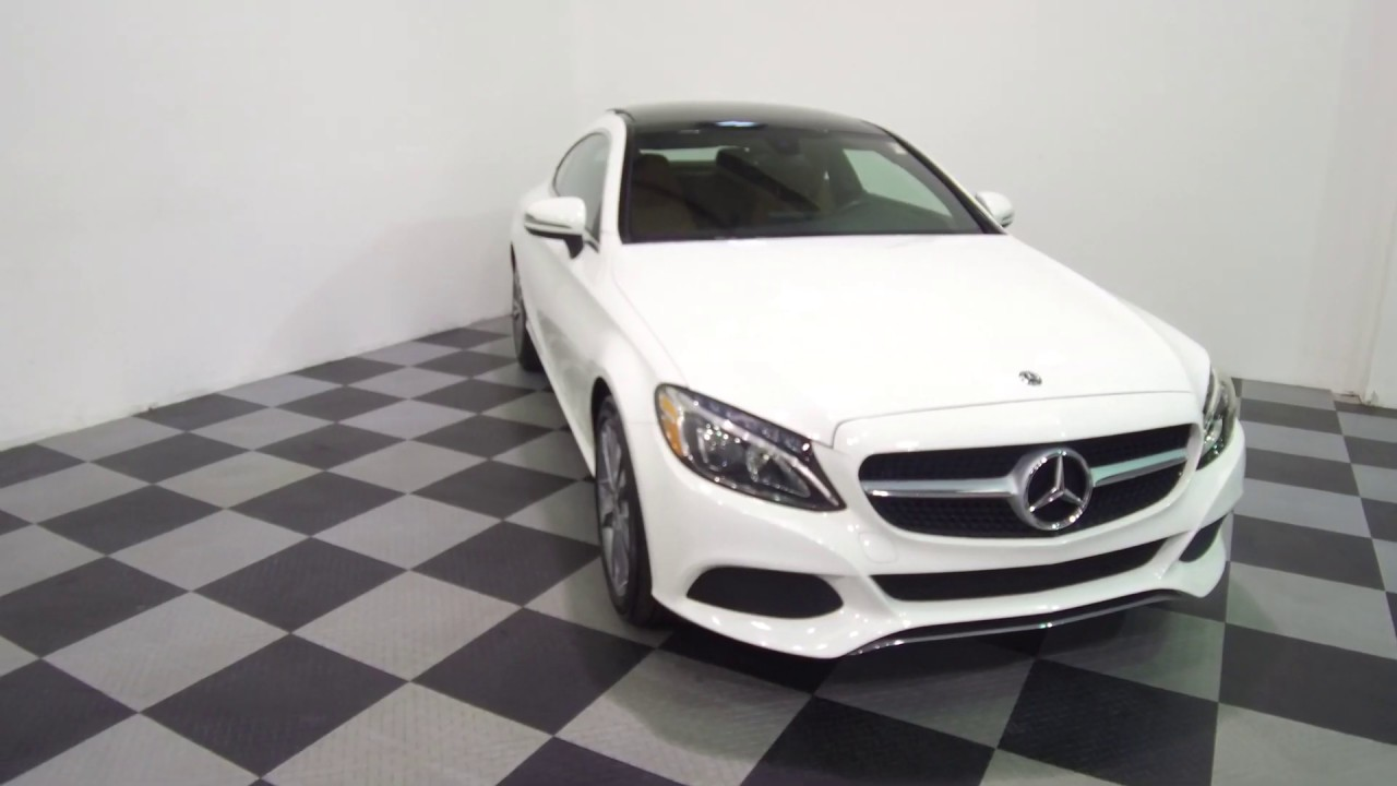 2018 Mercedes-Benz C300 4MATIC AWD Coupe for sale at ...