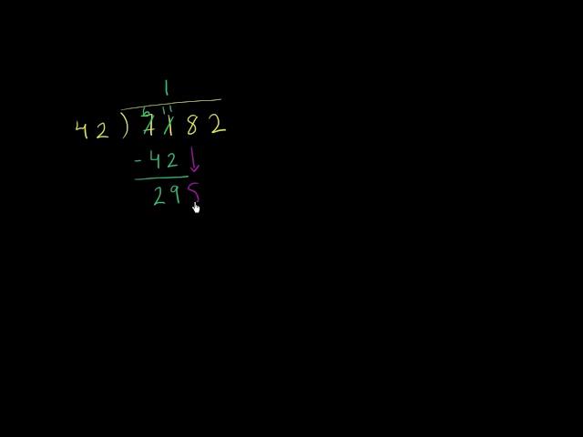 การหารด้วยเลขสองหลัก ตัวอย่าง 2 | Dividing by two digits example 2