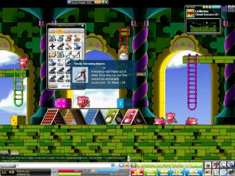 MapleStory easy way to get steelies