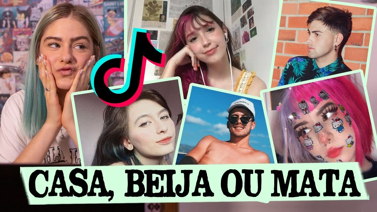 Casa, Beija ou Mata TIKTOKERS feat. Mary Chagas || Valentina Schulz