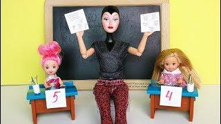 ПРИЗНАВАЙТЕСЬ, ЧЬИ ШПАРГАЛКИ?! Мультик #Барби Школа Куклы Игрушки Для девочек Ikuklatv