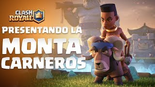 Clash Royale en Español: Presentando a la Montacarneros (¡Nueva Carta!)