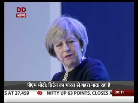 PM Modi, Theresa May address the India-U.K. Tech Summit