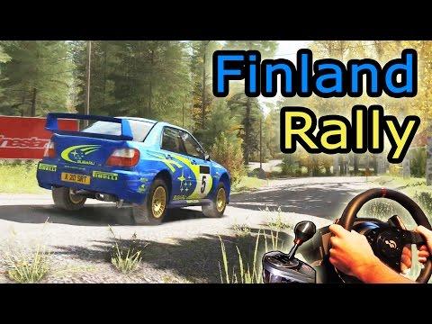 Subaru Impreza 2001 -  Finland, (DiRT Rally 2015).