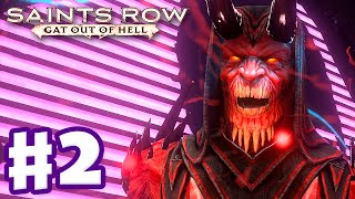 Saints Row: Gat Out of Hell - Gameplay Walkthrough Part 2 - Charge Halo! (PC, Xbox One, PS4)
